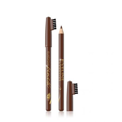 18pcs EYEBROW PENCIL BROWN WITH BRUSH