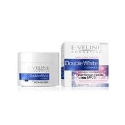 5PCS Double White Intensely Whitening VITAMIN C Mattifying Cream Spf20 All Skin