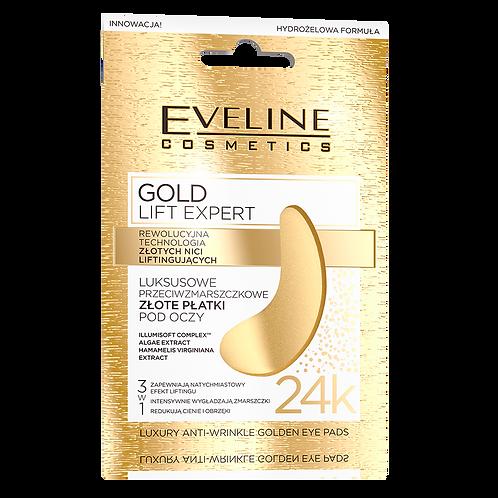 12PCS LUXURY ANTI-WRINKLE GOLDEN EYE PADS
