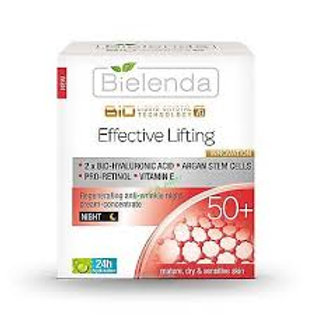 6pcs Regenerating Anti-Wrinkle Night Cream-Concentrate 50+