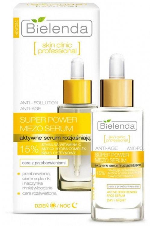6PCS Skin Clinic Professional active brightening serum day/night 30 ml