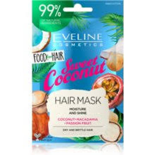 6PCS Food For Hair Sweet Coconut Care Hair Mask 20ml