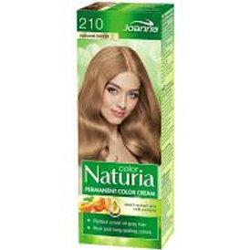8pcs  Naturia Permanent Color Hair Colour 210 Natural Blond