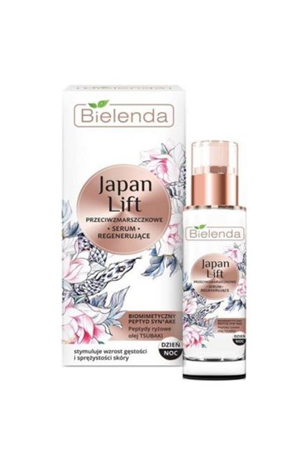 6 pcs JAPAN LIFT Regenerating antiwrinkle face serum day/night 30 ml
