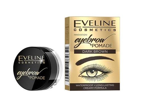 5pcs Eveline EYEBROW POMADE DARK BROWN