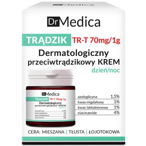 6pcs Dr Medica Dermatological Anti Acne Face Cream Day Night 50ml