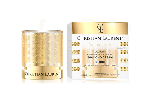 5pcs CHRISTIAN LAURENT LUXURY DIAMOND CREAM 50 ML