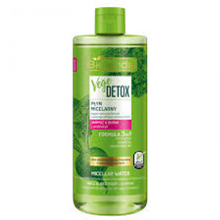 6PCS VEGE DETOX MICELLAR WATER WITH KALE & BEETROOT FOR MIXED AND OILY SKIN