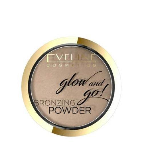 6PCS Bronzing Powder Glow And Go 01 Hawaii