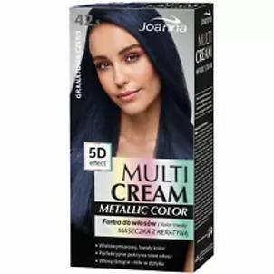6pcs Multi Cream Permanent Color Metallic 42.5 navy black