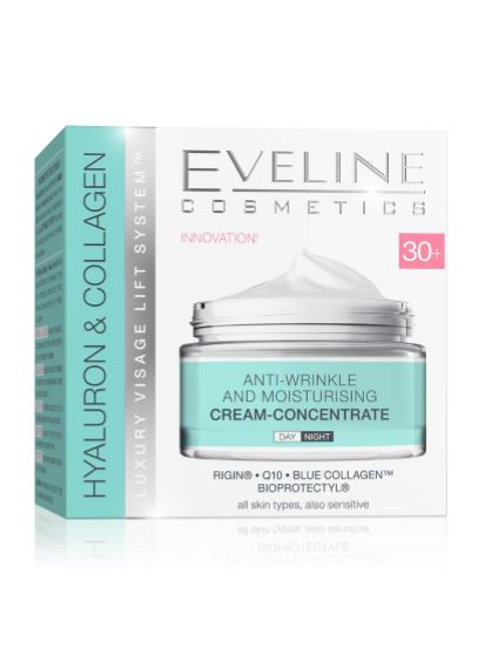 5pcs HYALURON&COLLAGEN DAY AND NIGHT CREAM 30+ 50ML