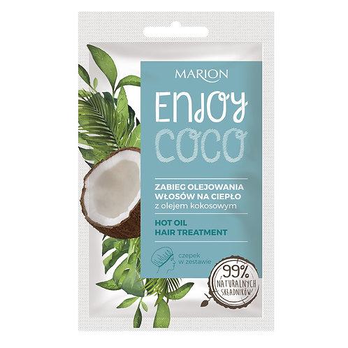 7PCS Enjoy Coco Hot Oil Hair Treatment 20ML