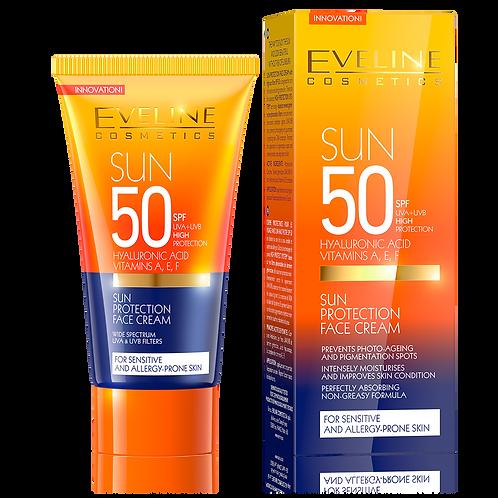 6pcs SUN PROTECTION FACE CREAM SPF 50