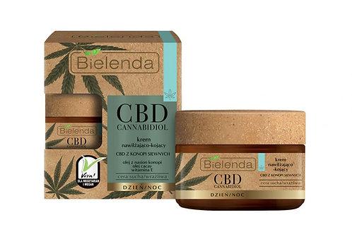 6PCS CBD Cannabidiol moisturizing and soothing face cream 50ML