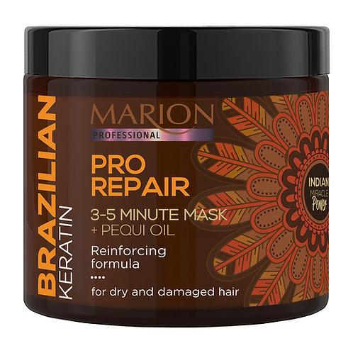 8PCS PRO REPAIR 3-5 MINUTE MASK (BRAZILIAN KERATIN)250ML