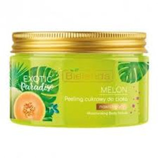 6pcs Exotic Paradise Moisturising Body Scrub Melon Extract Green Tea 350g
