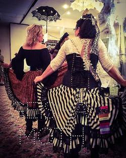 Friends fluff'n their Skirts in SD!