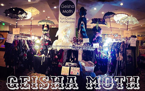 GEISHA MOTH Booth Photo #1
