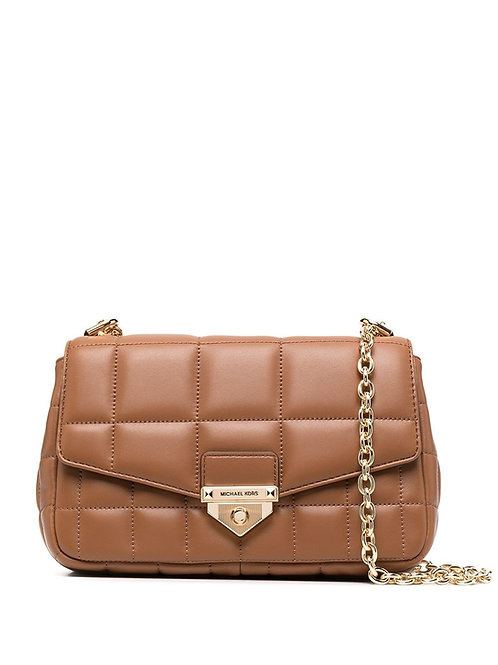 MICHAEL KORS Soho Large Quilted Leather Shoulder Bag