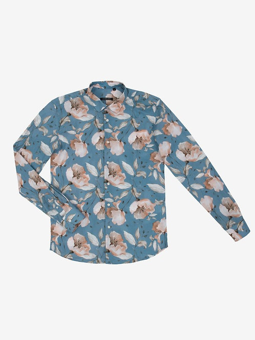 GIANNI LUPO FLORAL PATTERNED SHIRT