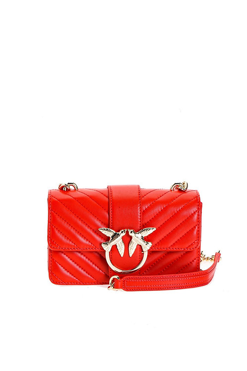 PINKO Love Mini Icon V Quilted