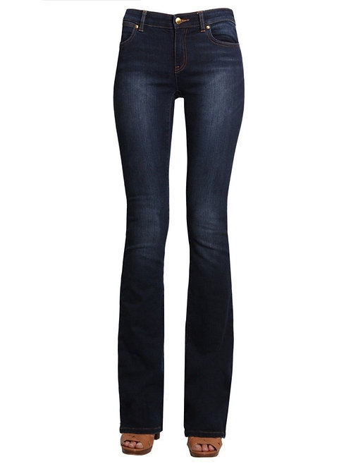 MICHAEL KORS WOMEN'S BLUE COTTON JEANS BOOTCUT