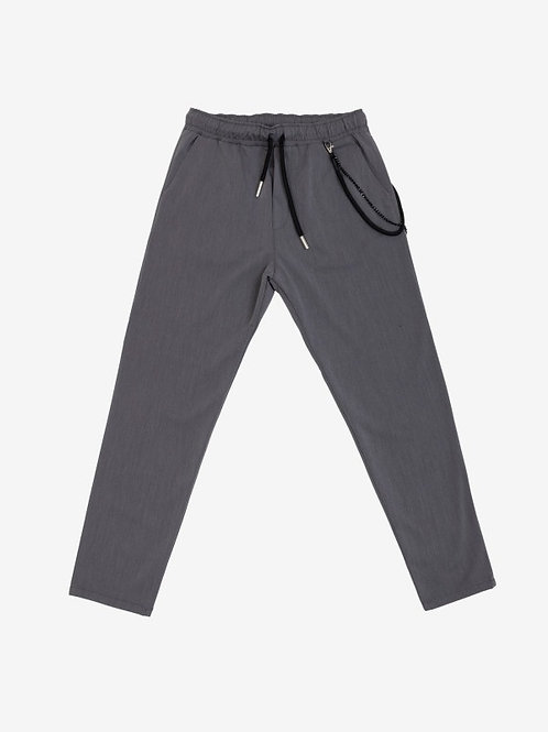 GIANNI LUPO DRAWSTRING TROUSERS WITH ACCESSORY