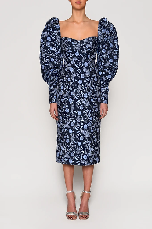 True Decadence navy floral Dress