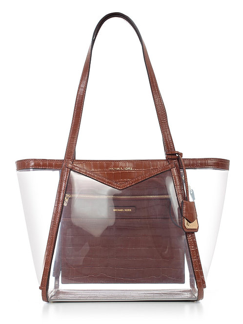 MICHAEL KORS  Whitney Large PVC and Leather Tote