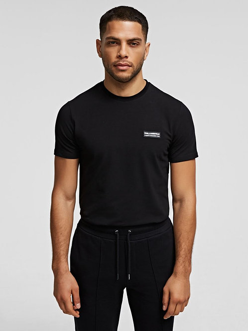 KARL LAGERFELD Small Patch Crew-Neck T-Shirt