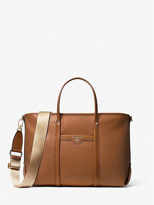 MICHAEL KORS Beck Medium Pebbled Leather Tote Bag