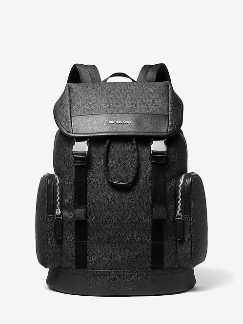 MICHAEL KORS MENS Hudson Logo Jacquard Backpack
