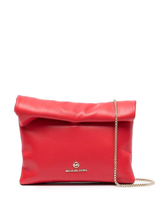 MICHAEL KORS Lola Small Leather Convertible Crossbody Bag