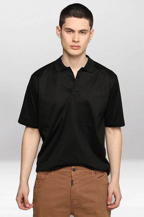 "I'M BRIAN Polo shirt with ""IMB"" application-SHIRT"