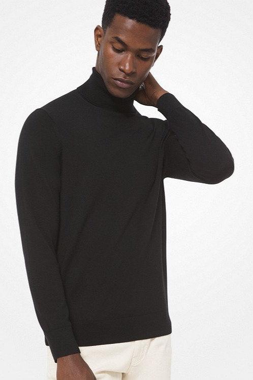 MICHAEL KORS Merino Wool Turtleneck Sweater