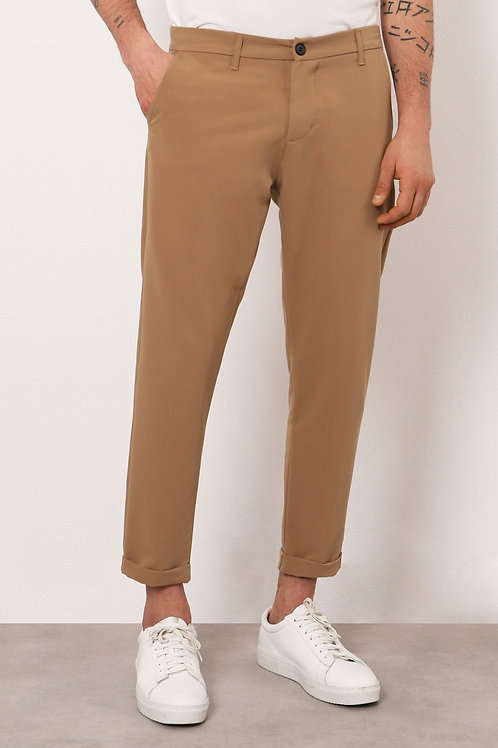 IMPERIAL CROPPED TROUSERS WITH TURN-UPS