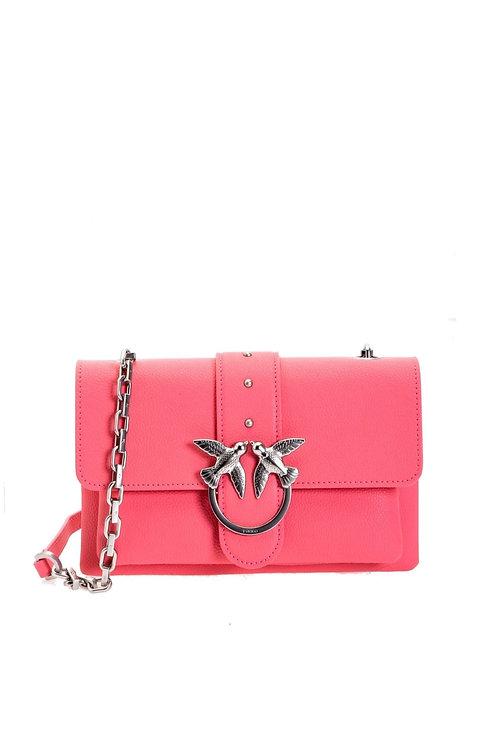 PINKO  Mini Love Bag Soft Simply In Tumbled Leather