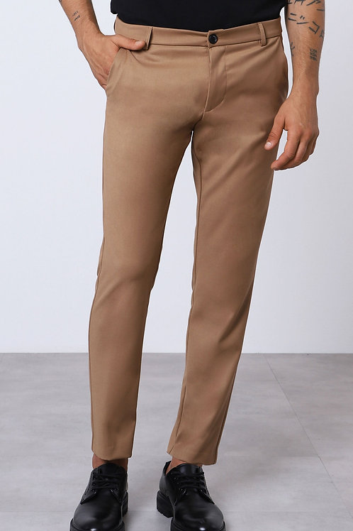 IMPERIAL LOW-RISE SLIM-FIT TROUSERS