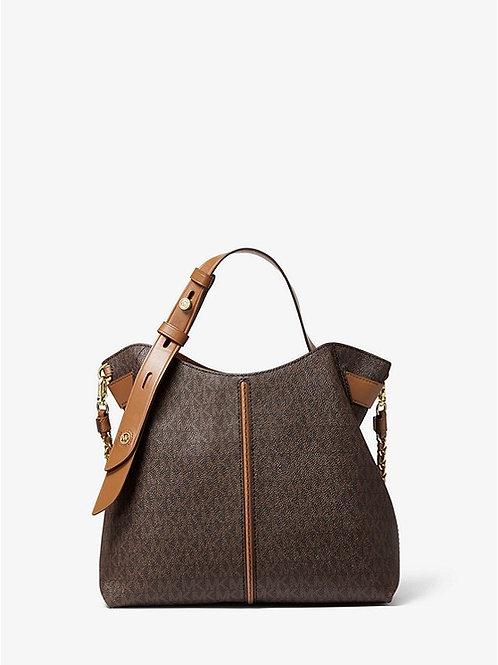 MICHAEL KORS Downtown Astor Small Logo Shoulder Bag