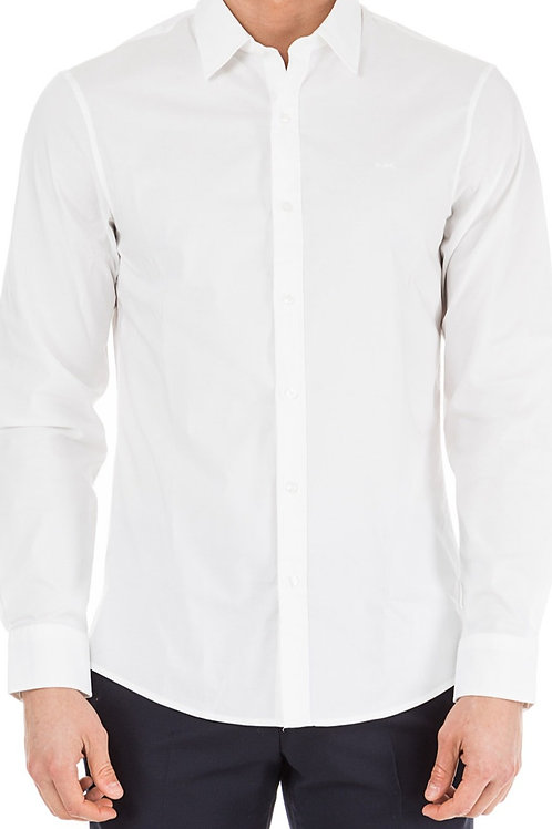 MICHAEL KORS  Michael Kors Slim-fit Stretch-cotton Shirt