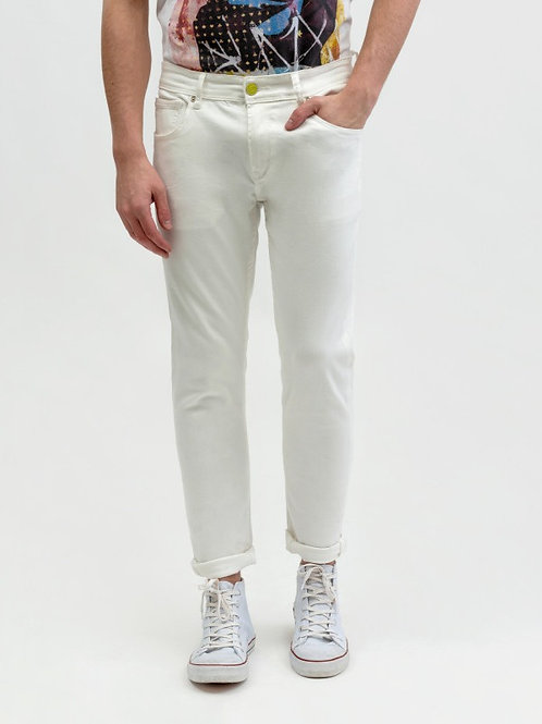 GIANNI LUPO KEVIN SKINNY FIT WHITE JEANS