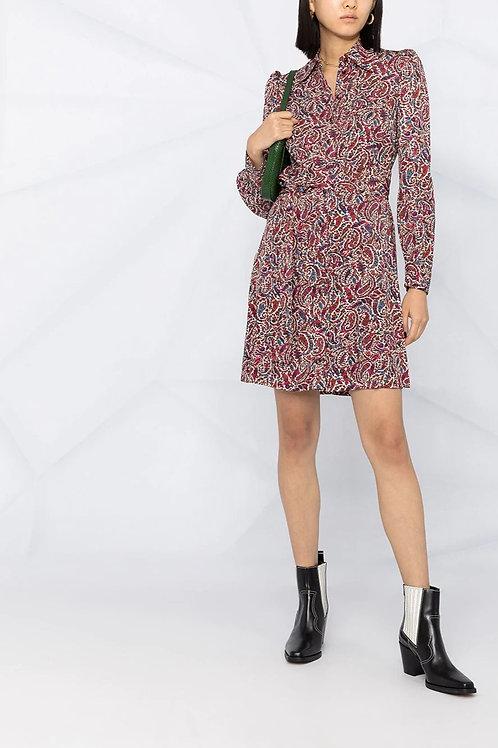 MICHAEL KORS Paisley-Print Shirt Dress