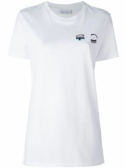 CHIARRA FERRAGNI Winking Eye T-shirt