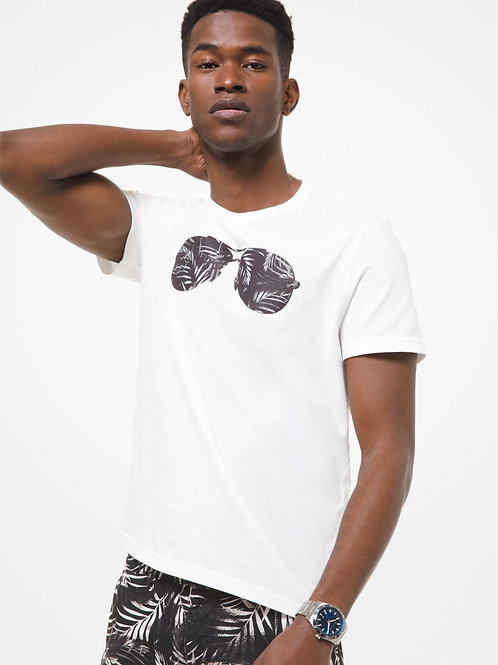 MICHAEL KORS Printed Cotton T-Shirt
