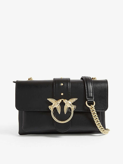 PINKO  Love Mini Leather Shoulder Bag
