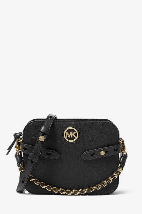 MICHAEL KORS Carmen Large Saffiano Leather Crossbody Bag