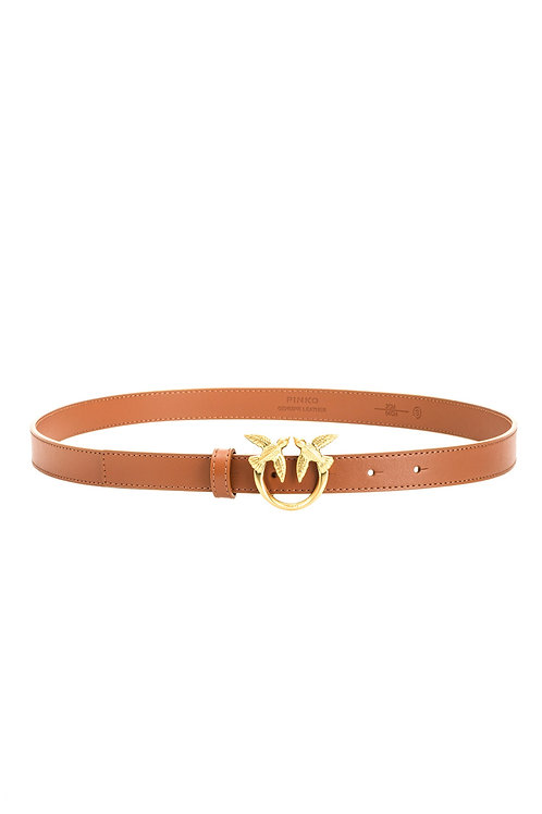 PINKO LOVE BERRY SMALL SIMPLY BELT