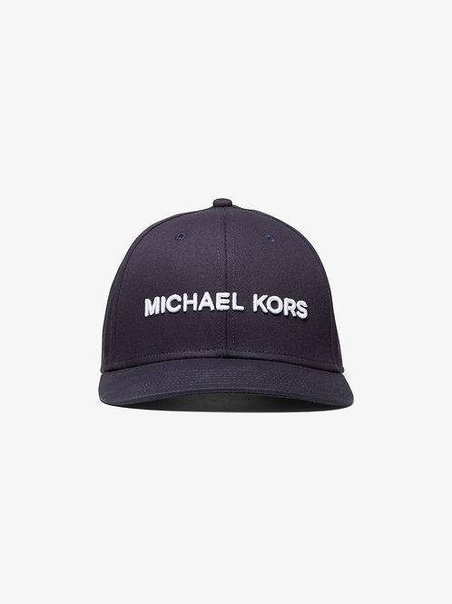 MICHAEL KORS MENS Logo Embroidered Cotton Baseball Cap
