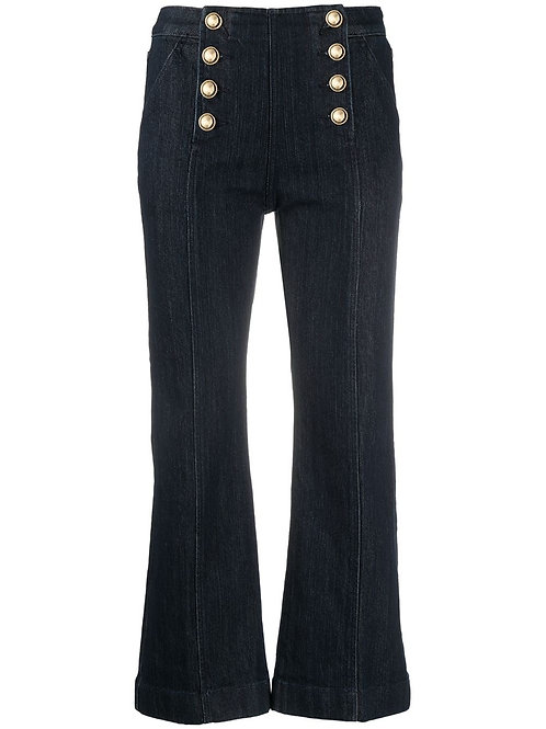 MICHAEL KORS Sailor Cropped Jeans