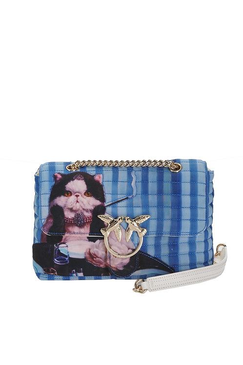 PINKO  Love Bag Puff Recycled PINKO X Lucia Heffernan